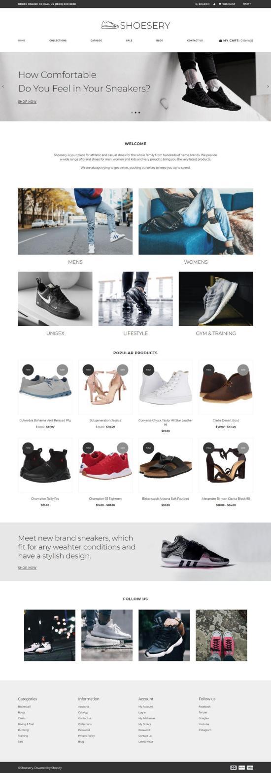 Shoesery Shopify Theme