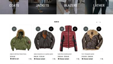 berwear shopify theme 01 - Berwear Shopify Theme