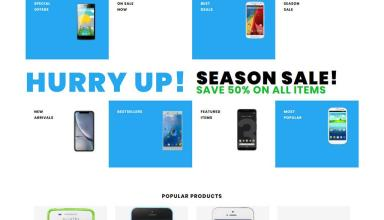 sellphone shopify theme 01 - Sellphone Shopify Theme