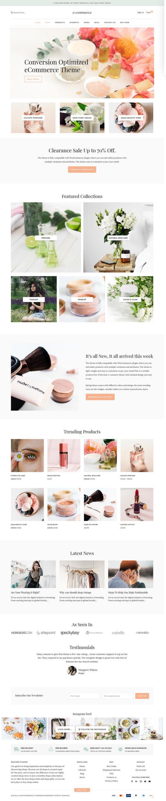 Templatic eCommerce WordPress Theme