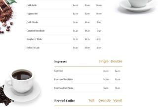 ultra coffee wordpress theme 01 - Ultra Coffee WordPress Theme