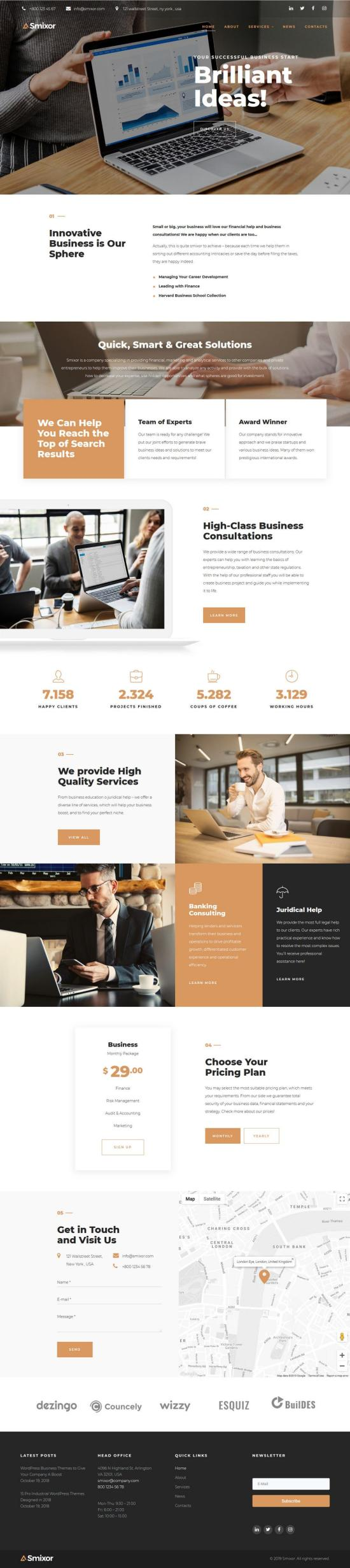 Smixor WordPress Theme