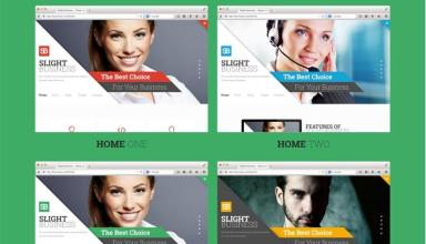 slight business joomla template 01 - Slight Business Joomla Template