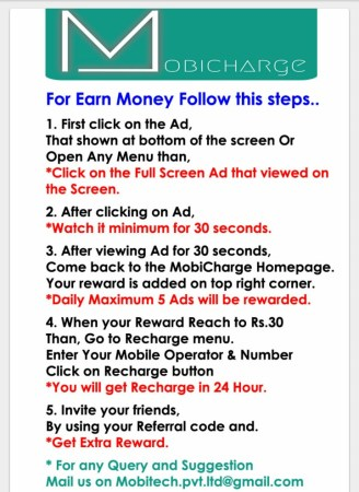mobicharge earn