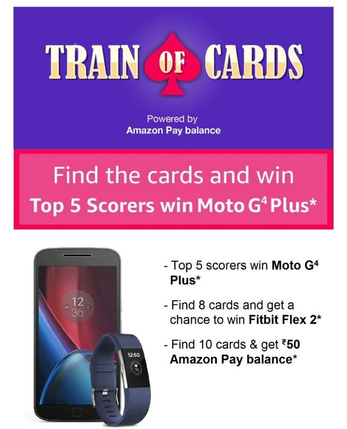 Amazon Train Card game