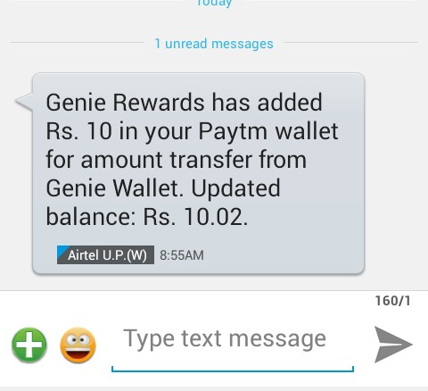 {*Loot*} Genie Browser App - Earn 5 Rs Paytm Cash Per Refer [Reedem Instantly] (Proof Added)