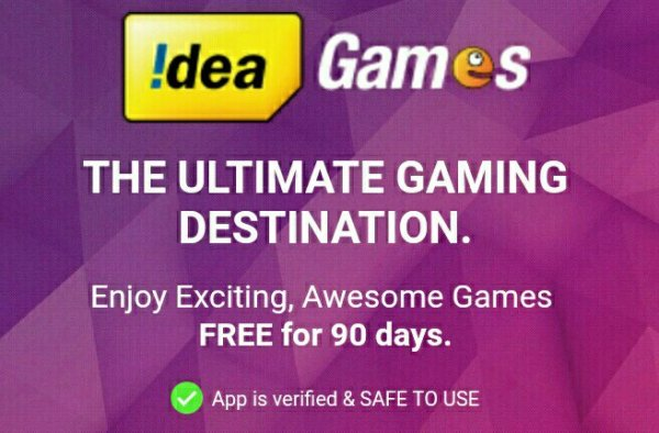 (Free 4G) Download Idea Game Spark & Get Free 512 MB  4G Data
