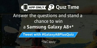 Amazon Galaxy A8+ Quiz Answers - Play and win free samsung smartphone