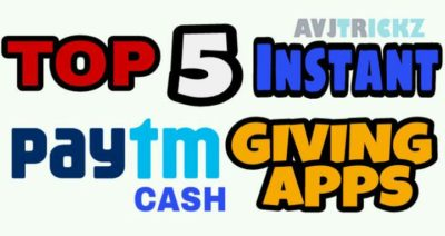 top 5 free paytm cash earning apps still working