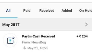 NewsDog App Paytm loot – Rs.50 Paytm cash On Sign up + Rs.8/Refer(*PROOF*)