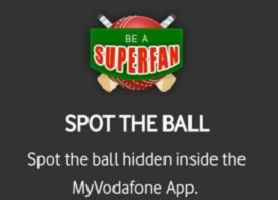 Vodafone Spot The Ball Contest Locations - Win Rs.500 Amazon Voucher