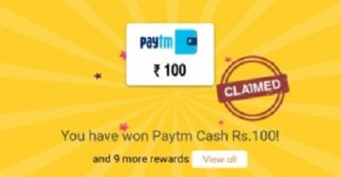 Crownit Survey- Free ₹5/10/100 Paytm Cash Or Rush Ticket Instantly
