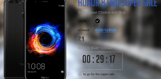 Honor 8 Pro Rs.1 Flash Sale - How to Buy Honor 8 Pro smartphone @ Just Rs.1