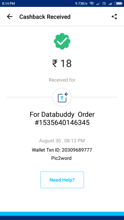 (Proof Added){*Loot*} Pic2Word App - Get 10 Rs Free Paytm Cash On Signup + 10 Rs Per Refer