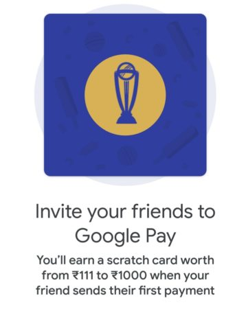 google pay refer and earn