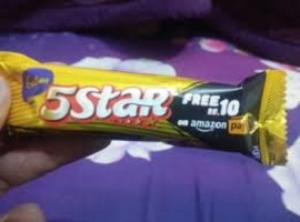 Get Free ₹10 Amazon Gift Voucher From Each Cadbury 5 Star Pack