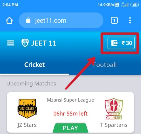 jeet11 fantasy referral code