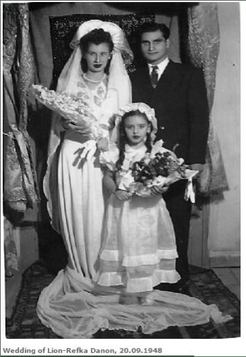 Kaynak: tireyahudileri.com, Lion- Refka Danon düğününden (1948)