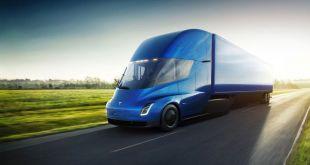 המשאית החדשה של TESLA