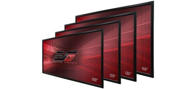 מסכי הקרנה בהתקנה קבועה – Elite proAV השיקה את סדרת Pro Frame, AVmaster