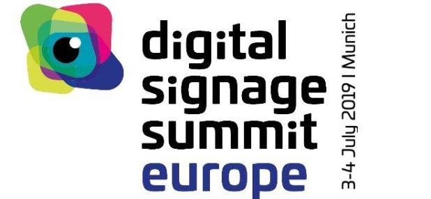 כנס השילוט הדיגיטלי האירופאי, Digital Signage Summit, יתקיים ביולי במינכן, AVmaster