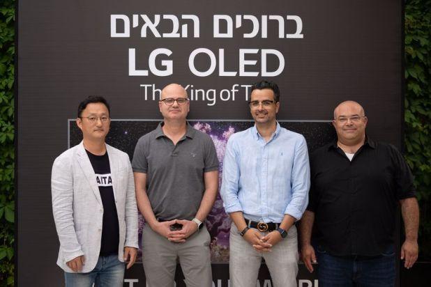 LG משיקה את סדרת המסכים החדשה שלה בישראל, AVmaster