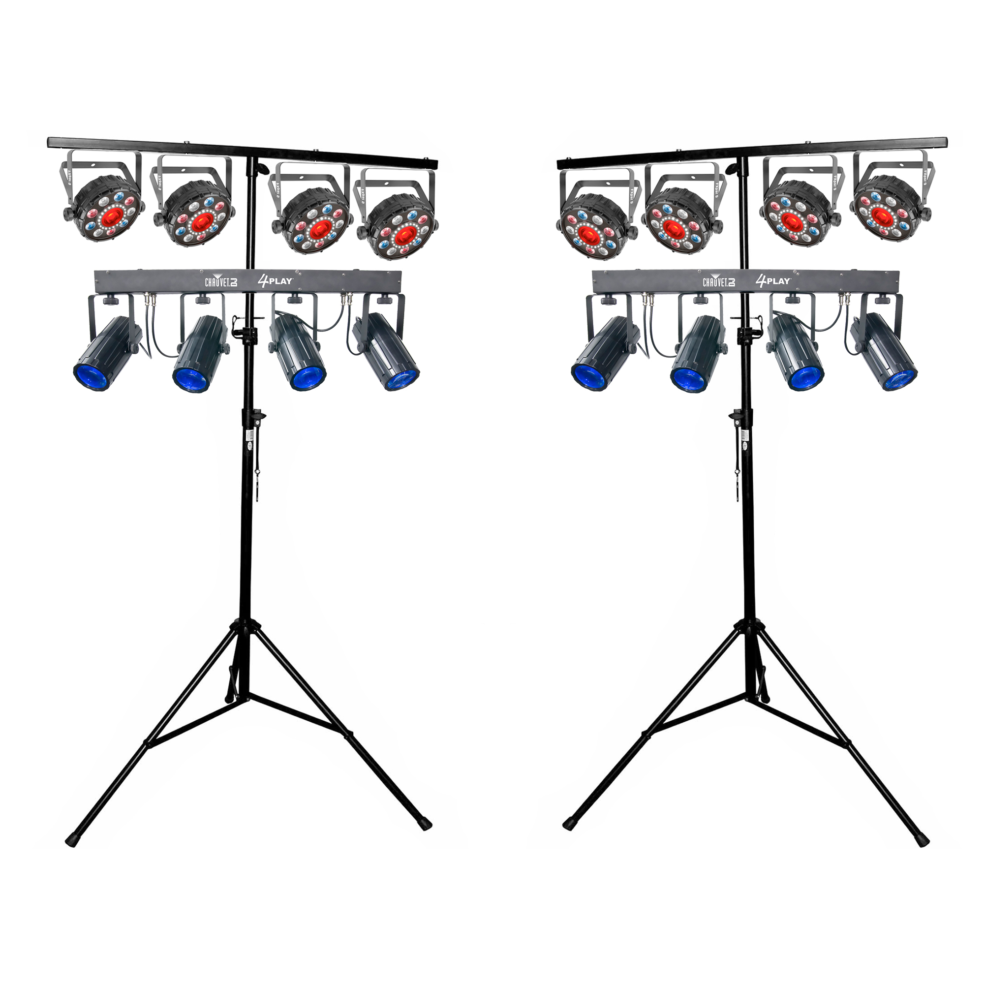 Chauvet Dj 4play Fxpar 9 Pack