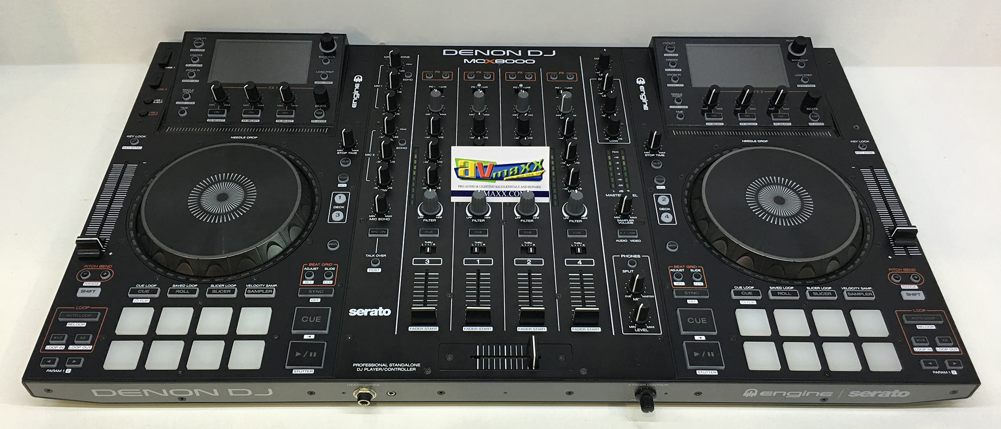 Denon DJ MCX8000 Used Serato DJ Controller Mint Condition