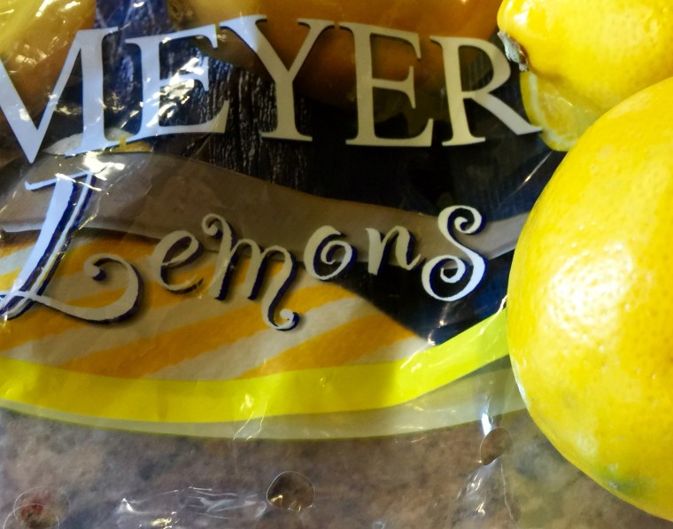 Meyer Lemons Bagged