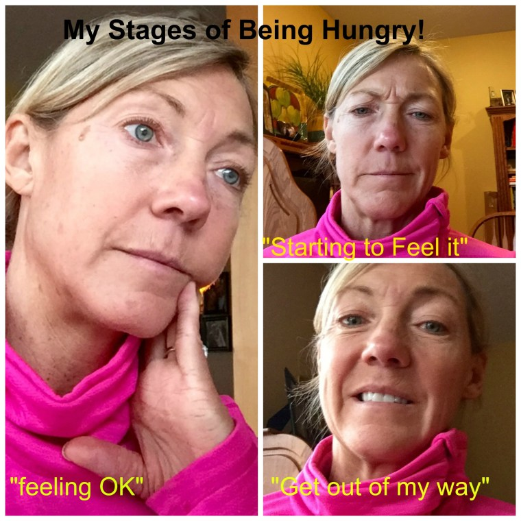 Four Stages of Being Hungry