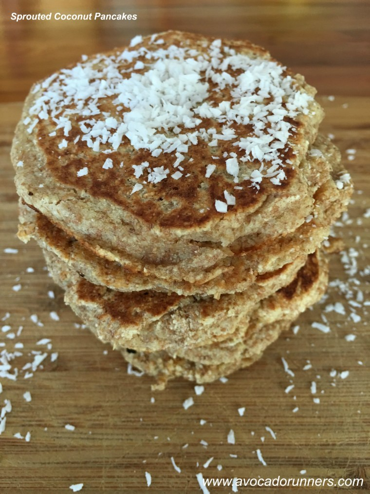 Sprouted Coconut Pancakes
