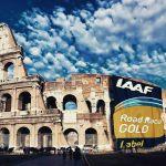 Rome Gold Leaf Label