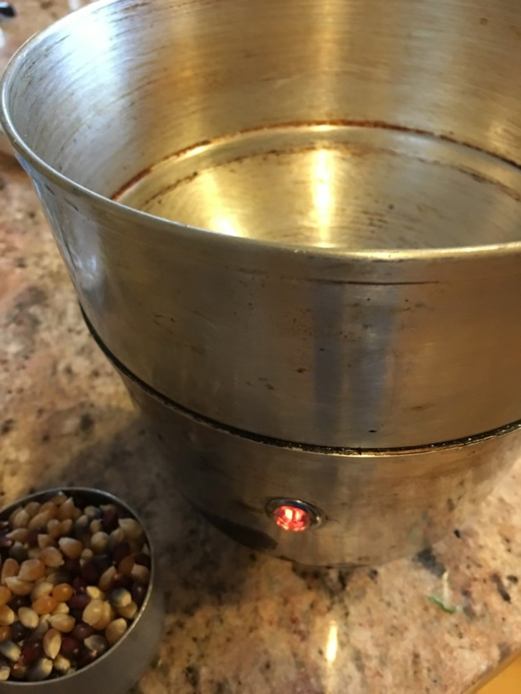 My Husband Loves this Old Fashioned PopCorn Popper