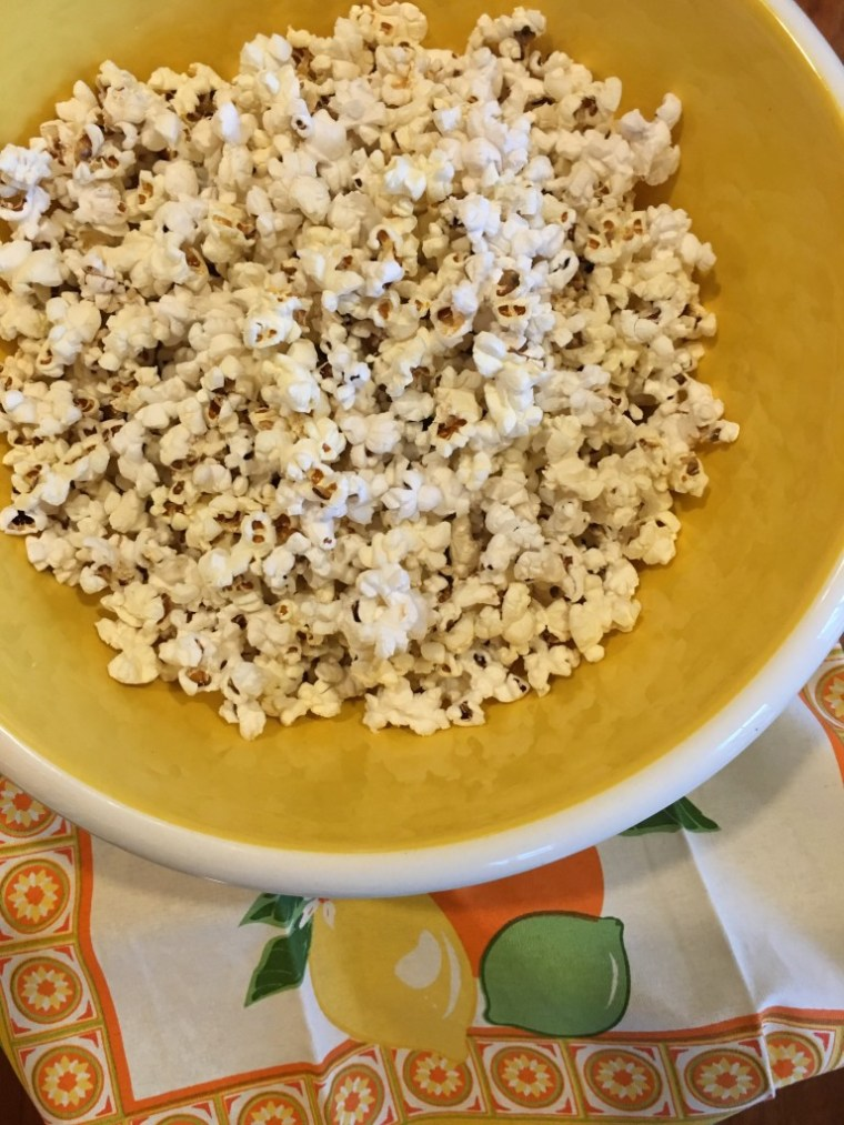 Oh Yes...Healthy Popcorn