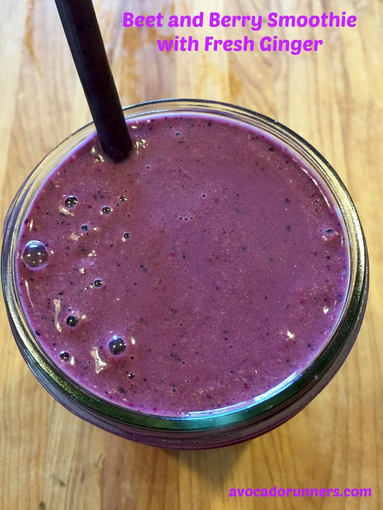 beet-berry-smoothie-with-fresh-ginger