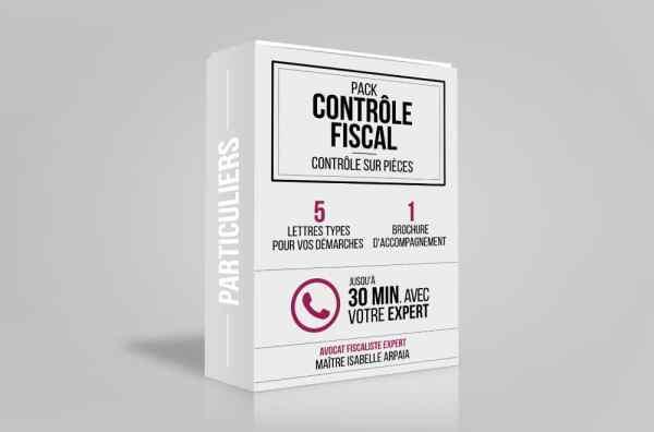 Contrôle Fiscal Modèles Lettres pour Particuliers - Contrôle sur Pièces - Avocat Fiscaliste Isabelle Arpaia, ancien Inspecteur des Impôts - Paris.