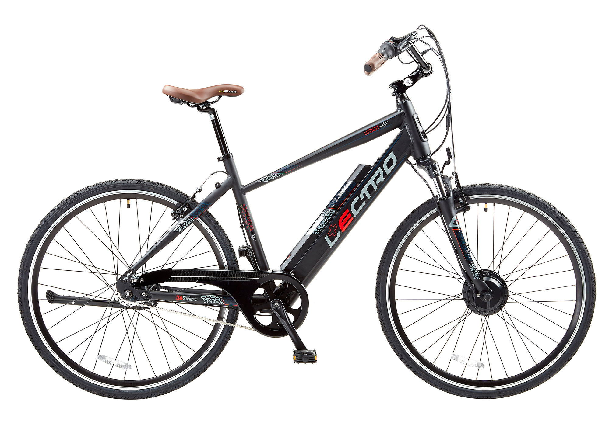 19 Urban City 7 Speed 36v E Bike 700c Wheel Gents