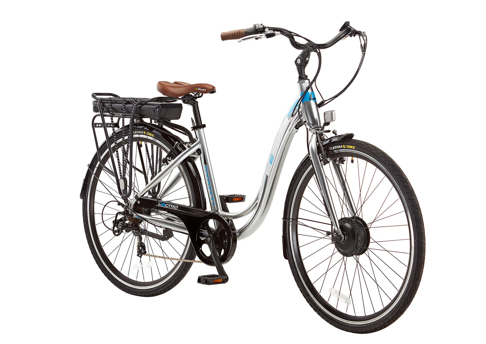 18 Avanti 7 Speed 36v E Bike 700c Wheel Silver Le004