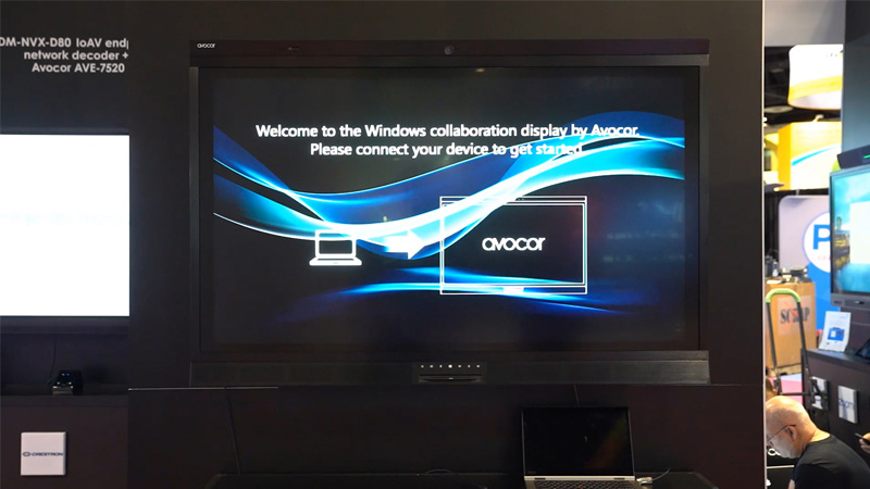 Avocor Windows collaboration display (WCD)
