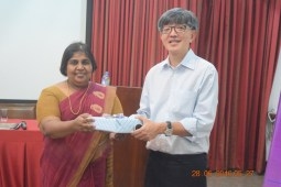 A token of appreciation from ITI