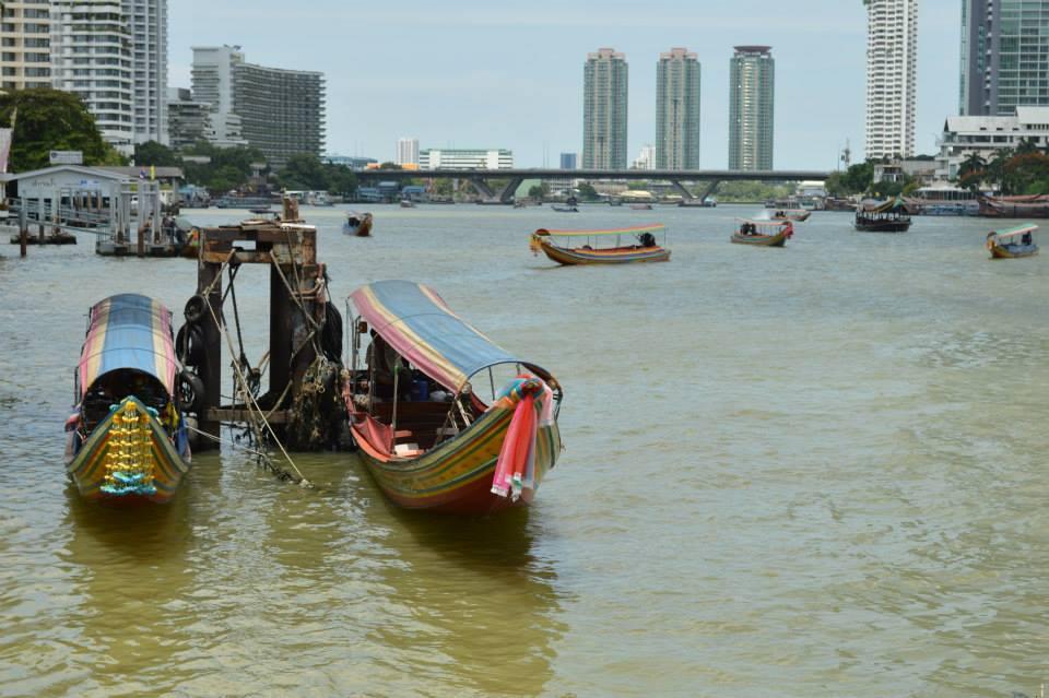 Bangkok met kind