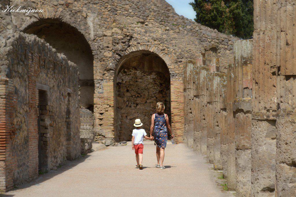 Almafikust en Pompeii in Italië