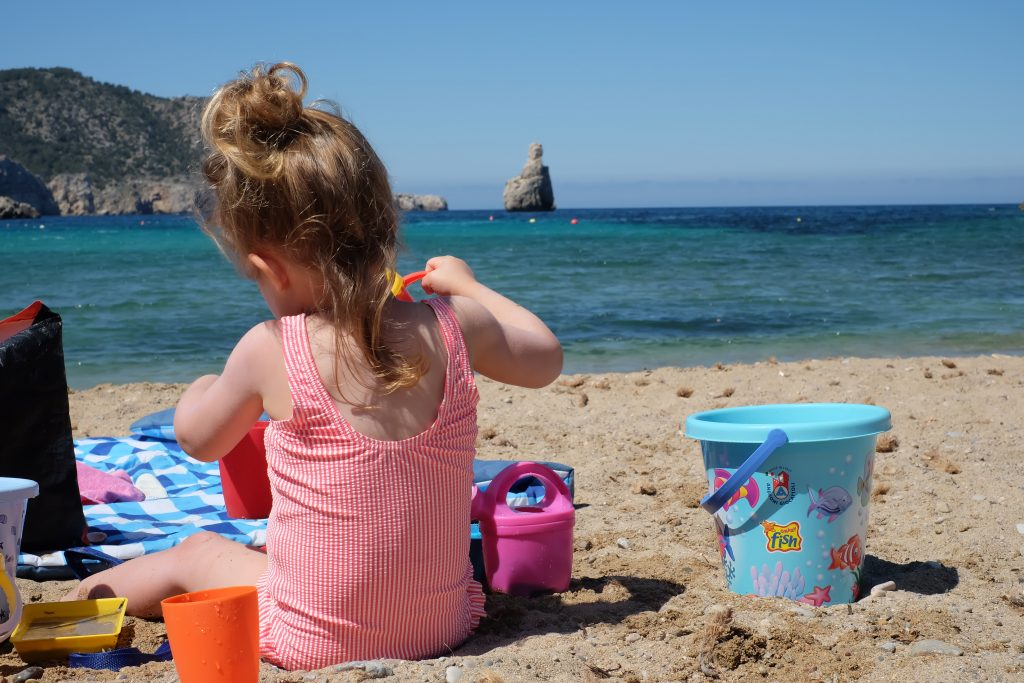 kindvriendelijke stranden op Ibiza