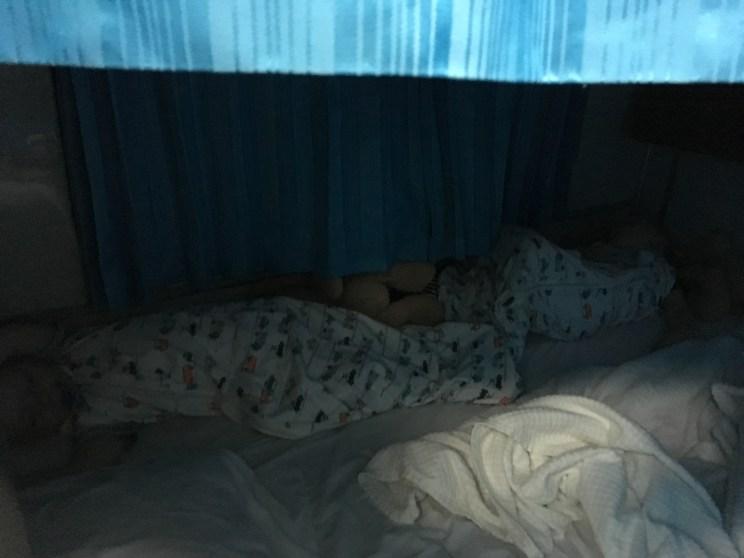 Met de nachttrein door Thailand met kleine kinderen