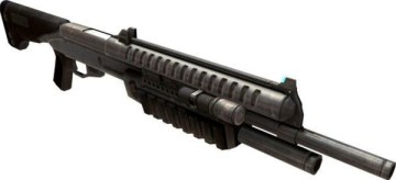 Fusil à pompe contre kalachnikov