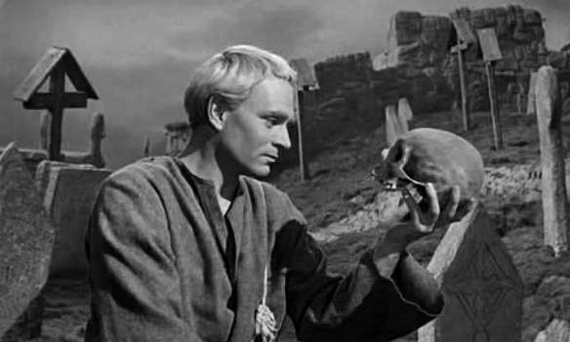 the evil in the play hamlet by william shakespeare Hamlet study guide contains a biography of william shakespeare, literature   fears) that the ghost is an imposter, an evil spirit sent to lure him to hell old  hamlet's ghost reappears in act three of the play when hamlet goes.