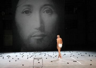 Sur le concept du visage de Dieu - Romeo Castellucci