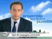Sarkozy : il vous a menti, il vous mentira encore