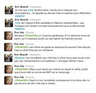 [Tweet catch dans la boue] Quand Eva Joly met K.O. Eric Woerth