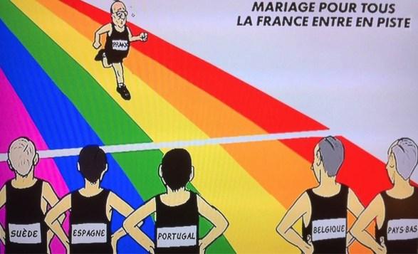 Mariage pour tous - La France entre en piste